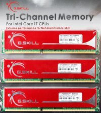 G.Skill Releases Triple-Channel DDR3 Memory Kits for Intel Core i7 Processors