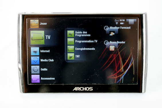 Archos 5 Internet Media Tablet (Portable Media Player)