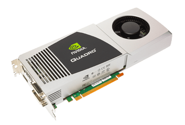 NVIDIA Quadro FX 5800 Professional Graphics Card