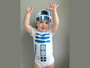 R2D2 costume for toddlers