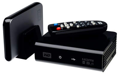 Western Digital WD TV External HD Media Player